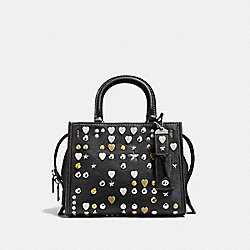 COACH F86853 Rogue 25 With Beatnik Rivets LH/BLACK