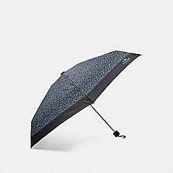 RANCH FLORAL MINI UMBRELLA - f86864 - SILVER/MIST