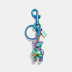 COACH F87166 - 3D BEAR BAG CHARM OILSLICK