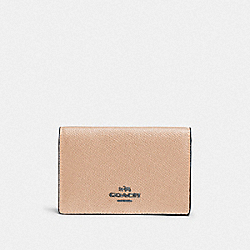 COACH F87254 - BUSINESS CARD CASE DK/BEECHWOOD