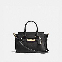 COACH SWAGGER 27 - F87295 - BLACK/LIGHT GOLD