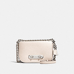 COACH F87321 - COACH SWAGGER SHOULDER BAG 20 CHALK/SILVER