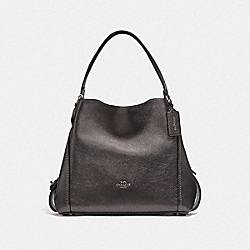 COACH F87399 - EDIE SHOULDER BAG 31 GM/METALLIC GRAPHITE