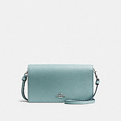 COACH F87401 Hayden Foldover Crossbody Clutch SV/CLOUD