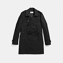 TRENCH COAT - f87431 - BLACK