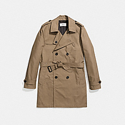 COACH F87431 Trench Coat TOBAC