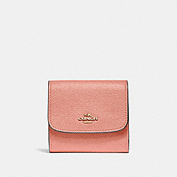 COACH F87588 Small Wallet MELON/LIGHT GOLD