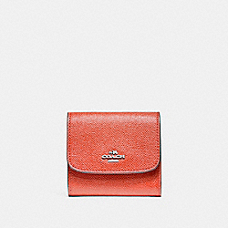 COACH F87588 Small Wallet SILVER/WATERMELON