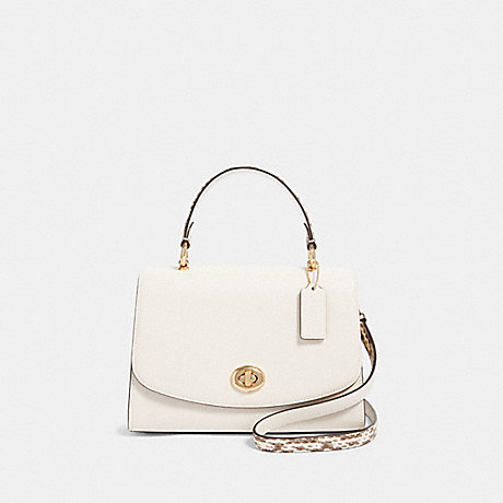 COACH F87667 TILLY TOP HANDLE SATCHEL IM/CHALK