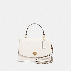 TILLY TOP HANDLE SATCHEL - F87667 - IM/CHALK