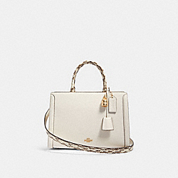 COACH F87669 - ZOE CARRYALL IM/CHALK