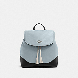 COACH F87676 - JADE BACKPACK IN COLORBLOCK SV/PALE BLUE MULTI
