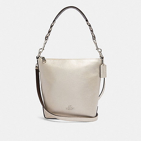 COACH F87691 MINI ABBY DUFFLE SV/PLATINUM
