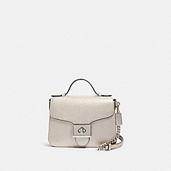 CASSIDY TOP HANDLE CROSSBODY - F87693 - SV/PLATINUM