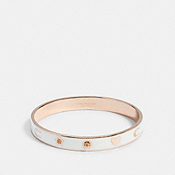 MOTIF BANGLE - F87950 - RS/CHALK