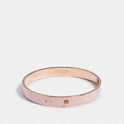 COACH F87950 Motif Bangle RS/PINK