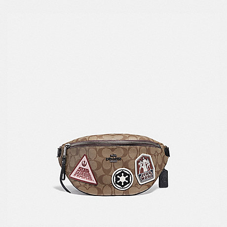 various colors fashion style super quality COACH F88013 - STAR WARS X COACH BELT BAG IN SIGNATURE ...