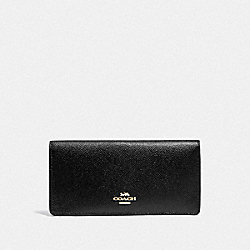 COACH F88025 Bifold Wallet IM/BLACK
