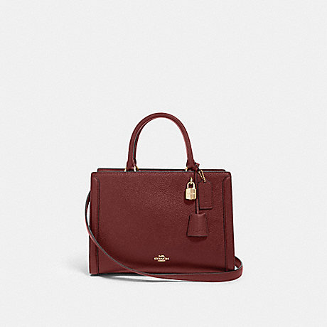 COACH F88037 ZOE CARRYALL IM/WINE