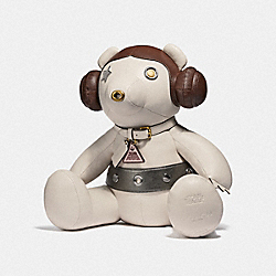 COACH F88046 Star Wars X Coach Princess Leia Collectible Bear MULTICOLOR