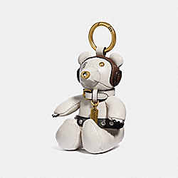 COACH F88047 Star Wars X Coach Princess Leia Bear Bag Charm GD/CHALK