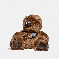 COACH F88050 Star Wars X Coach Chewbacca Collectible Bear MULTICOLOR