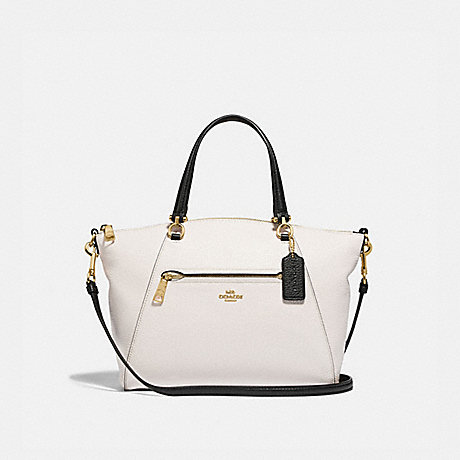 COACH F88057 PRAIRIE SATCHEL IM/CHALK/BLACK