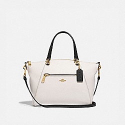 PRAIRIE SATCHEL - F88057 - IM/CHALK/BLACK