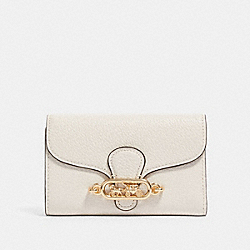 COACH F88099 Jade Medium Envelope Wallet IM/CHALK