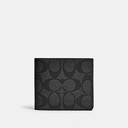 COACH F88132 3-in-1 Wallet In Colorblock Signature Canvas QB/CHARCOAL CADET