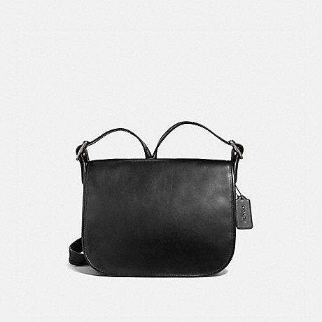 COACH F88145 PATRICIA SADDLE BAG QB/BLACK