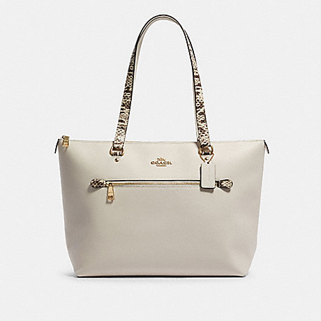 COACH F88234 GALLERY TOTE IM/CHALK