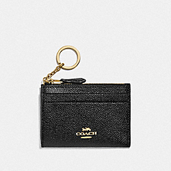 COACH F88250 Mini Skinny Id Case IM/BLACK