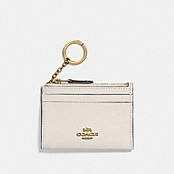COACH F88250 Mini Skinny Id Case IM/CHALK