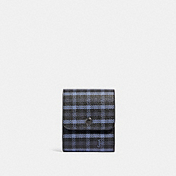 COACH F88358 - GROOMING KIT WITH TINY CLASSIC PLAID PRINT QB/NAVY