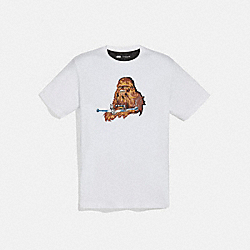 STAR WARS X COACH CHEWBACCA T-SHIRT - F88539 - WHITE