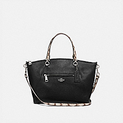 COACH F88561 - PRAIRIE SATCHEL SV/BLACK