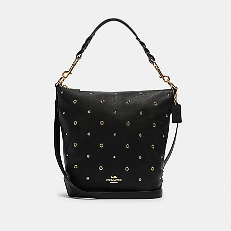 COACH F88897 ABBY DUFFLE WITH GROMMETS IM/BLACK