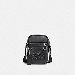 COACH F89187 - STAR WARS X COACH TERRAIN CROSSBODY IN SIGNATURE CANVAS WITH MOTIF QB/BLACK MULTI