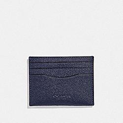 COACH F89709 Slim Card Case CADET