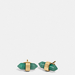 COACH F90478 - AMULET STUD EARRINGS GDPAL