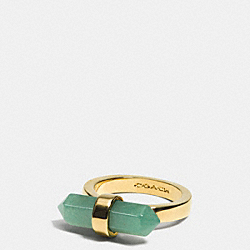 COACH F90552 - AMULET RING GDPAL