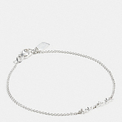 COACH F90900 Sterling Wanted Script Bracelet SILVER/SILVER
