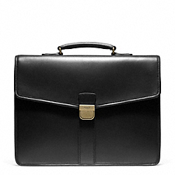 CROSBY LUX LEATHER AMBASSADOR BRIEF - f93219 - F93219B4BK