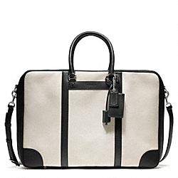 COACH F93250 Bleecker Canvas Suitcase