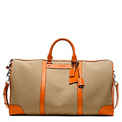 COACH F93251 Bleecker Canvas Cabin Bag
