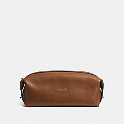 COACH F93436 - DOPP KIT DARK SADDLE