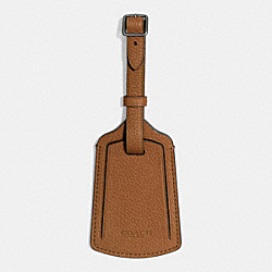 COACH F93475 Luggage Tag SADDLE