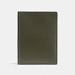 PASSPORT CASE - F93604QBJUN - JUNIPER/BLACK ANTIQUE NICKEL