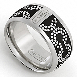 COACH F95144 Op Art Dot Ring